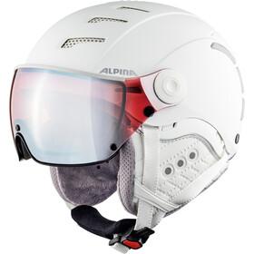 Alpina Jump 2.0 QVMM Ski Helmet white matt